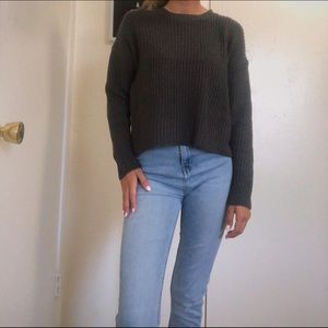 Barely worn cropped forever 21 sweater